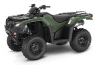 2021 Honda FourTrax Rancher 4x4 TRX420FA5 DCT & IRS