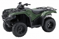 2021 Honda FourTrax Rancher TRX420TM1 Manual Shift