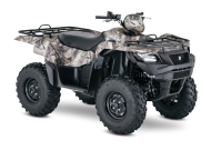 2017 Suzuki KINGQUAD 750AXi Automatic Shift & Camo