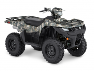 2019 Suzuki KINGQUAD 500ASi Camo & Power Steering