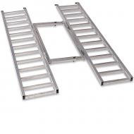 Tri-Fold Adjustable Aluminum Ramp