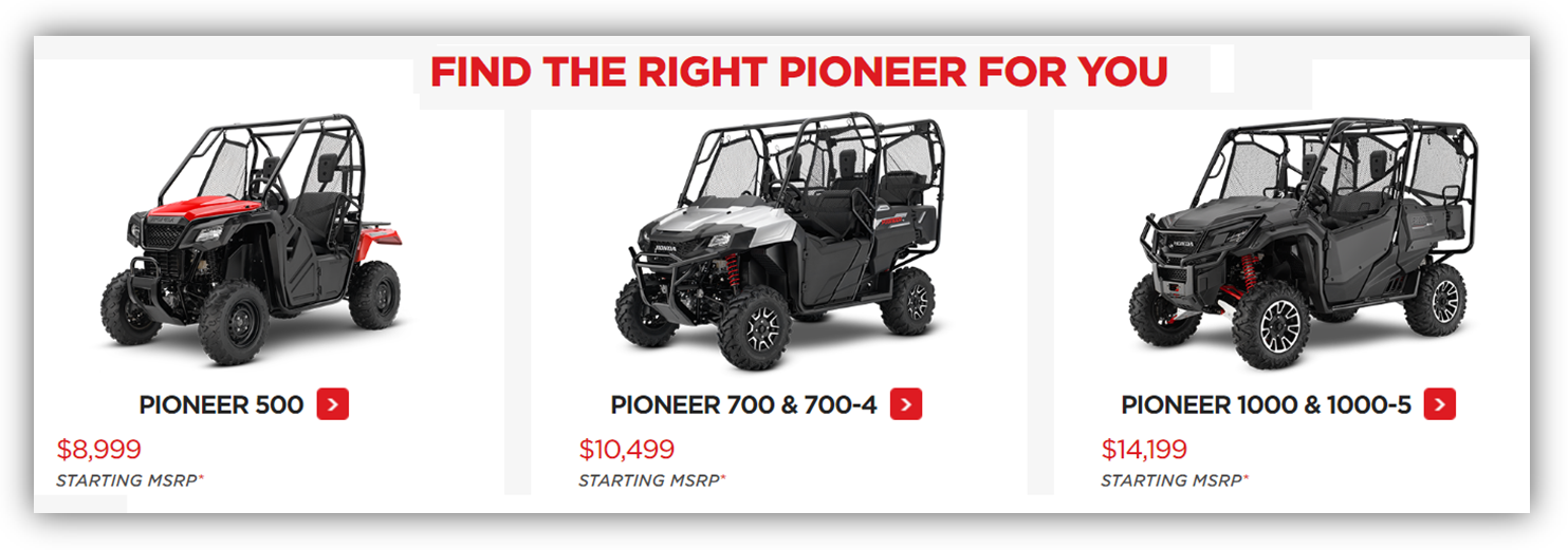 pioneer for you